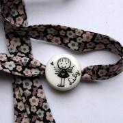 bracelet personnalisé blanc claudia ladriere