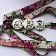 bracelet personnalisé blanc porcelaine claudia ladriere
