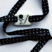 bracelet porcelaine personnalisé enfant claudia ladriere