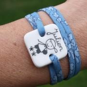 claudia ladriere bracelet personnalisé liberty copie