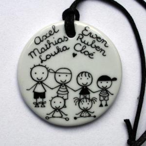 collier pendentif bijou gravure personnalisé claudia ladriere 1