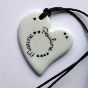 collier blanc personnalise claudia ladriere