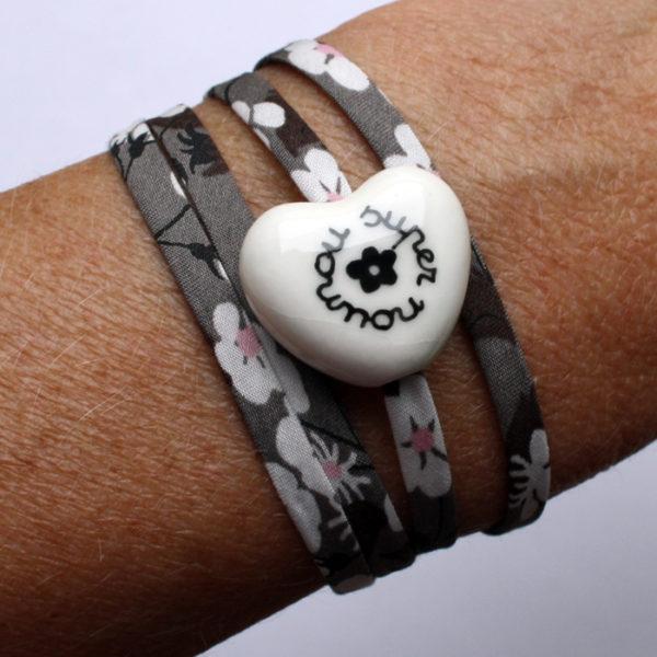 bracelet cadeau nounou claudia ladriere