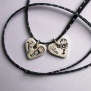 coeur personnalise pendentif claudia ladriere