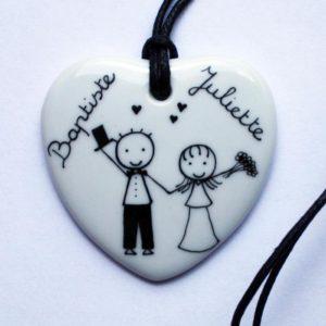 pendentif cadeau mariage claudia ladriere