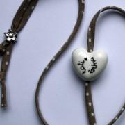 cadeau nounou bracelet blanc claudia ladriere