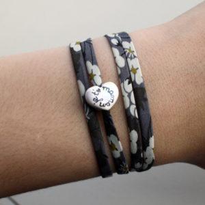 cadeau fete des meres bracelet coeur claudia ladriere