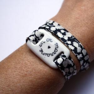 bracelet marraine blanc claudia ladriere