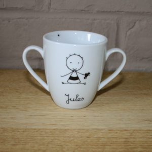 timbale tasse personnalisée claudia ladriere