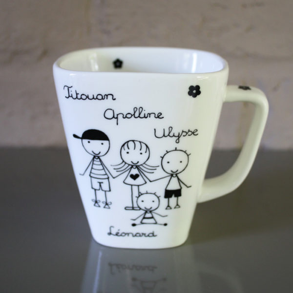 mug tasse personnalis claudia ladri re cr ations. Black Bedroom Furniture Sets. Home Design Ideas