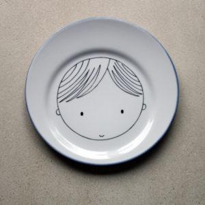 assiette personnalisé garçon claudia ladriere